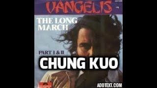 Vangelis - The Long March, Part 2, Athens: 1996 - Chung Kuo