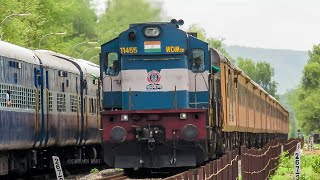 Tejas Express gets Downgraded.! Gets Single locomotive for the Slower 'Monsoon Schedule'