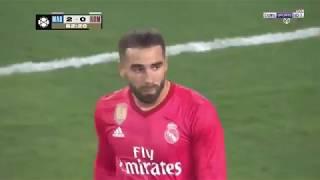ملخص مباراة ريال مدريد وروما 2-1 - تألق بيل واسينسيو - الكاس الدولية 2018