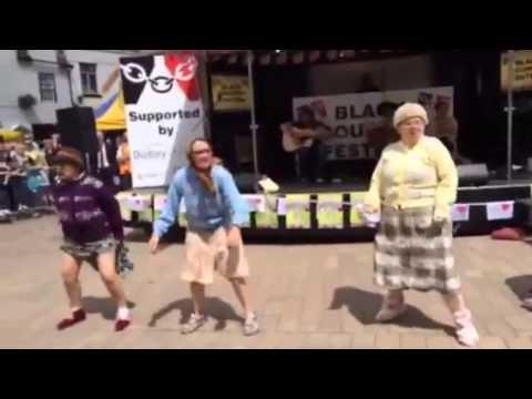 Fizzogs Facebook Phenomenon!!! 'Dancing Grannies'