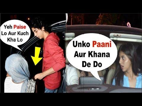 Xxx Mp4 Suhana Khan And Aryan Khan SWEET GESTURE Towards BEGGAR MUST WATCH 3gp Sex