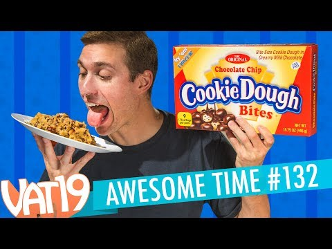 Giant Cookie Dough Bites Pancake Jelly Beans Stupid Science A.T. 132