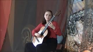 Vera Danilina: Alexandre Tansman - Cavatina for Guitar
