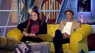 سليمان عيد يحكي كيف تعرف علي زوجته مدام عبير