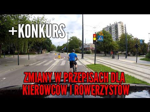 Zmiany w przepisach dla kierowców i rowerzystów KONKURS 225 MOTO DORADCA