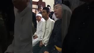 Ust Somad ... Keluarkan keris CIRI khas Riau saat ceramah ! Allohuakbar ...Allohuakbar
