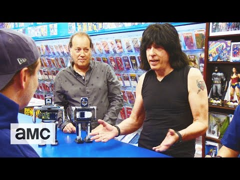 Comic Book Men Marky Ramone Bot Talked About Scene Ep. 614