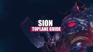 Sion Toplane German Guide #Tankmeta #Unaufhaltbar