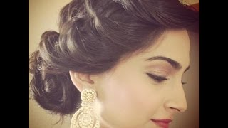 Traditional sari hair tutorial | Beauty box