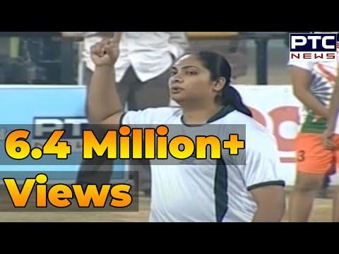 India vs Pakistan   Women's   2nd Semi Final   Pearls 4th World Cup Kabaddi Punjab 2013