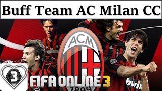 I Love FO3   Xây Dựng Đội Hình Team Color AC MILAN CC Fifa Online 3: