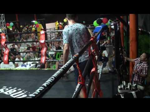 BBQ Beatdown 98 MMA Fight Enda Ireland vs Loic France