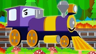 Learning Colors with Color Train for Kids Children Toddlers
