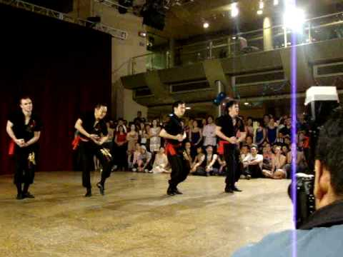 Kung Fu Shine by JJSalsaRengue Performance Team @ JJSalsaRengue 9th Annual Party 2010