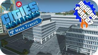 Cities Skylines Gameplay: SIPATEA INTELLIGENCE AGENCY Cities: Skylines Mods MASS TRANSIT DLC Part 27