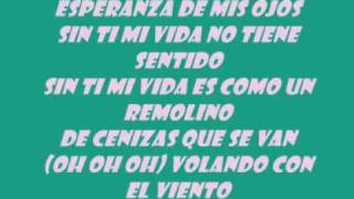 me enamora-lyrics