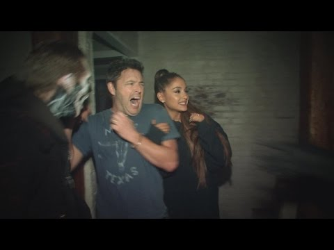 Andy and Ariana Grande s Haunted House Adventure