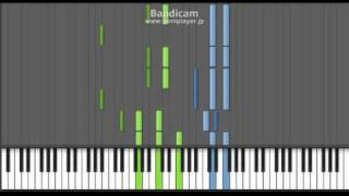 it's only the fairy tale Mai-Hime (舞HIME) piano-tutorial
