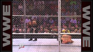 The Undertaker vs. Brock Lesnar - Hell in a Cell WWE Championship Match: No Mercy 2002