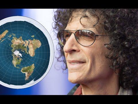 Flat Earth Asshole Response to Howard Stern