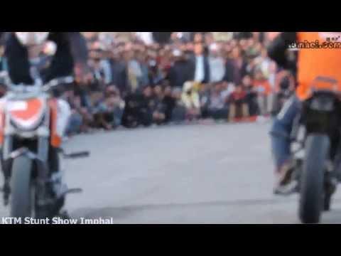 KTM Stunt Show Imphal, Manipur   HD