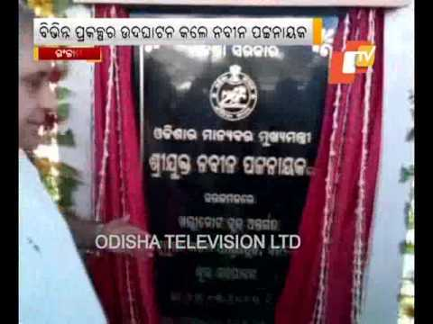 CM inaugurates projects in Ganjam