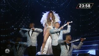Jennifer Lopez - If You Had My Love & Get Right (Live at New Year's Eve With Carson Daly)