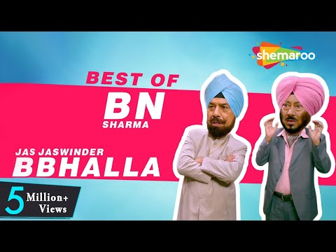 Xxx Mp4 Best Of BN Sharma Jaswinder Bhalla New Punjabi Comedy Video 2017 3gp Sex