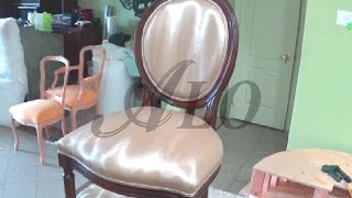 HOW TO UPHOLSTER A DINING ROOM CHAIR - ALOWORLD