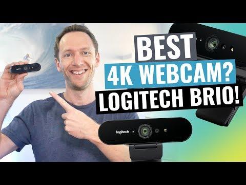 Logitech Brio Review Best 4K Webcam