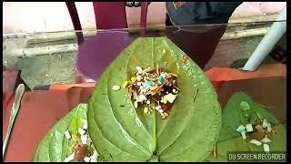 অস্তির পান খোর||Bangla funny video||আগুন দিয়ে পান খাওয়া||