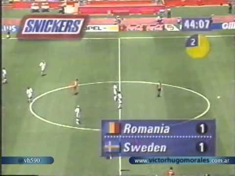Rumania 2 Suecia 2 4 5 Relato Jose Gabriel Mundial 1994 Los goles