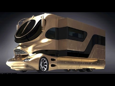 watch 5 MOST EXTREME LUXURY BUSES On Earth !