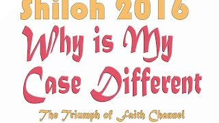 My Case is Different Part 3 By Bishop Oyedepo @ SHILOH 2016 DAY 3 Morning