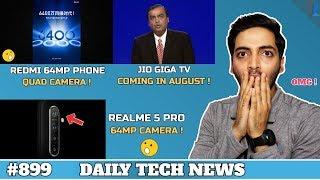 Realme 5 Pro 64MP Camera,Redmi Quad Camera Phone,Jio Giga TV India,Honor Smart TV India #899