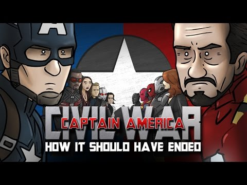 Xxx Mp4 How Captain America Civil War Should Have Ended 3gp Sex