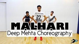 MALHARI - Bajirao Mastani   Deep Mehta Choreography   Master Class Marathon 2016