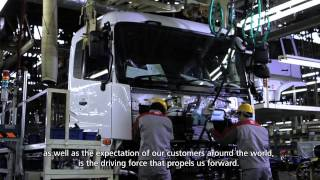 UD Trucks celebrates its 80th Anniversary in 2015 UDトラックス 80年の歩みーその一歩先へ