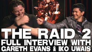 THE RAID 2 Full Interview With Gareth Evans & Iko Uwais
