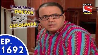 Taarak Mehta Ka Ooltah Chashmah - तारक मेहता - Episode 1692 - 10th June, 2015