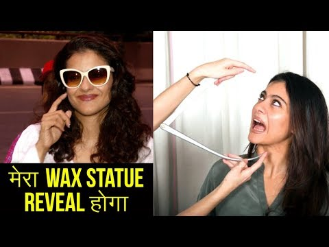 Xxx Mp4 Kajol WAX STATUE Unveiling LEAVES For London 3gp Sex