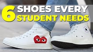 BEST SNEAKERS FOR SCHOOL   6 Shoes Every Student Needs   Alex Costa