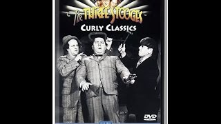 Opening To The Three Stooges:Curly Classics 1998 DVD