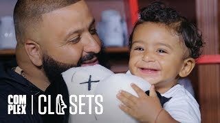 DJ Khaled and Asahd Khaled Show Off Their Sneaker Collections On Complex Closets