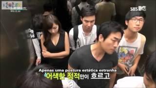 [Legendado-PT] Bangtan Boys Elevador Prank - Câmera Escondida