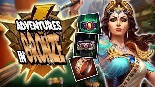 Smite: Adventures in Bronze Duel - Hera Vs. Jing Wei - Argus and Autos ONLY Challenge!