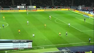 VM Kval Tyskland - Sverige Andra Halvlek 4-4 HD 1080i
