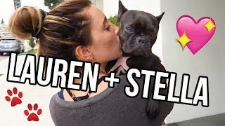 Dog Vlog | Lauren Elizabeth and Stella!