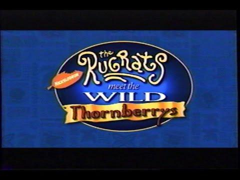 Rugrats Meet the Wild Thornberrys 2003 Trailer VHS Capture
