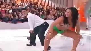 Mulher Melancia   Dançando Funk Shortinho Representa Linda